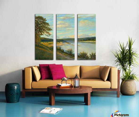 Okah_River_In_August Split Canvas print