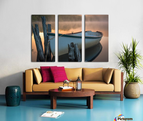 Caught in the Moment Split Canvas print