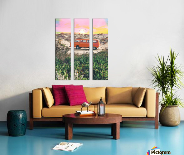 Summer Adventure Split Canvas print