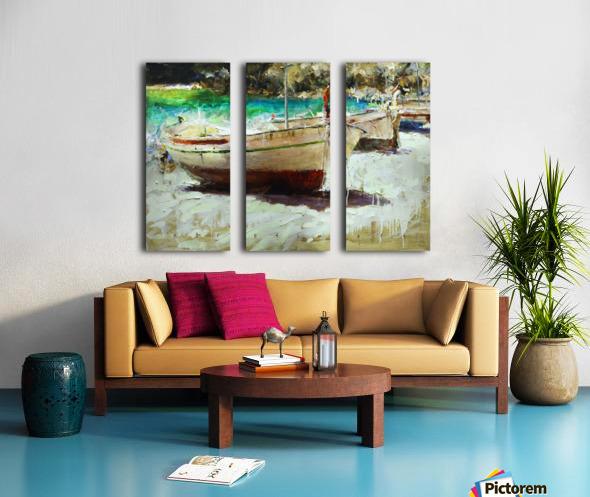 Panorama1 Split Canvas print
