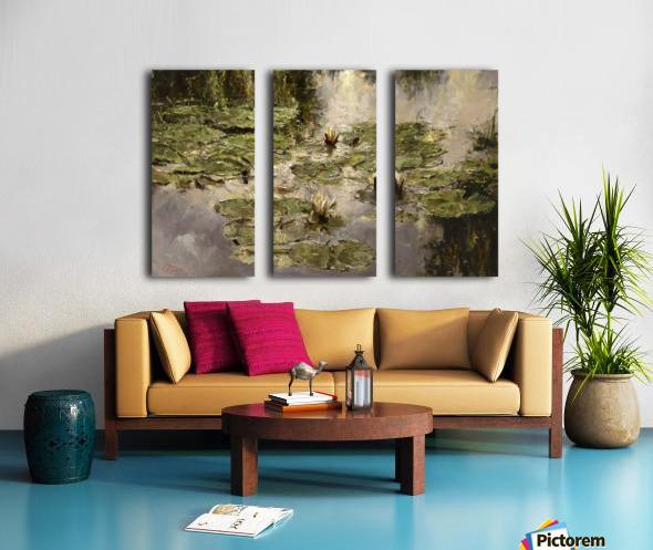Old_pond Split Canvas print
