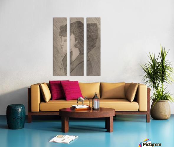 Day Dreamer Split Canvas print