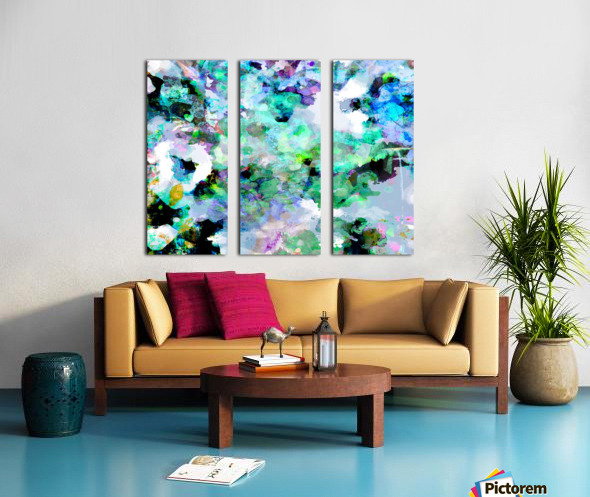 Serene Reflections Split Canvas print