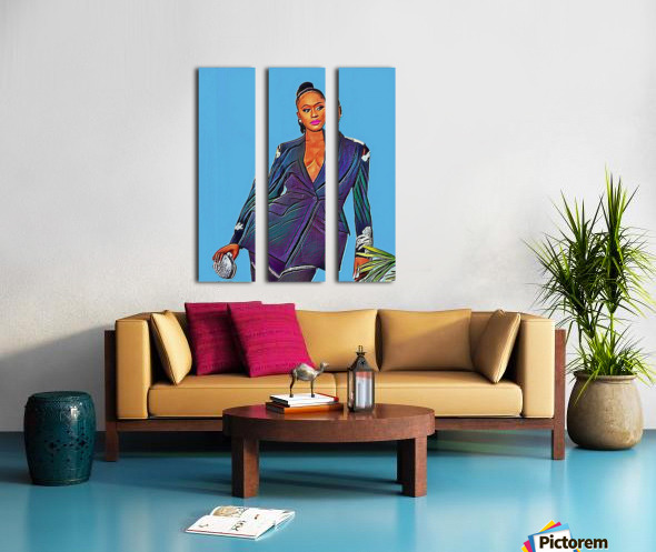 Reminisce Split Canvas print