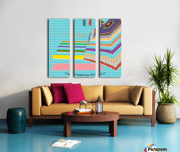 Patchwork by dePace Split Canvas print