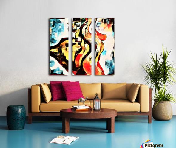 FraGmenTs C Split Canvas print