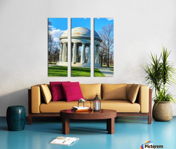 DC War Memorial Split Canvas print