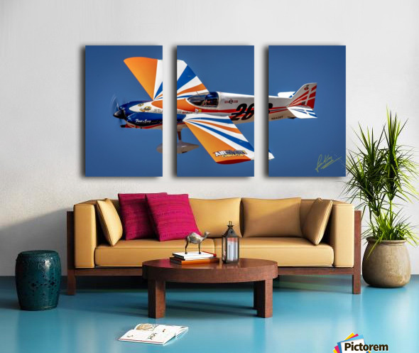 John King 51 Split Canvas print