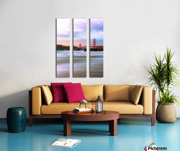 Symphony of Light Split Canvas print