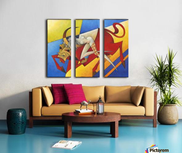 Europa Split Canvas print
