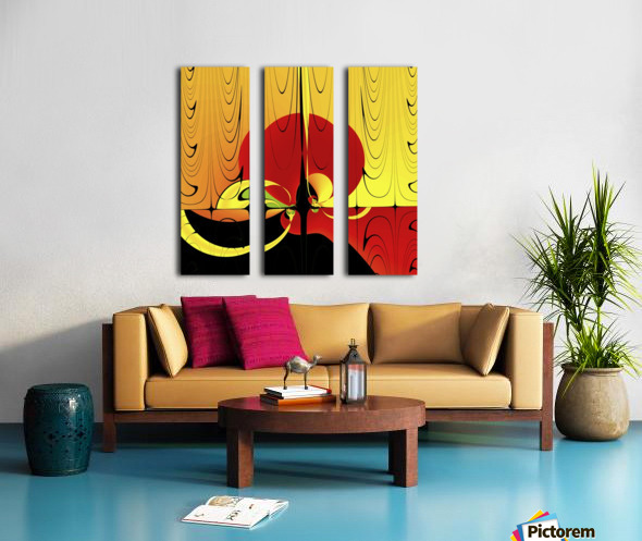 Albacore_Tuna_s_Revenge Split Canvas print