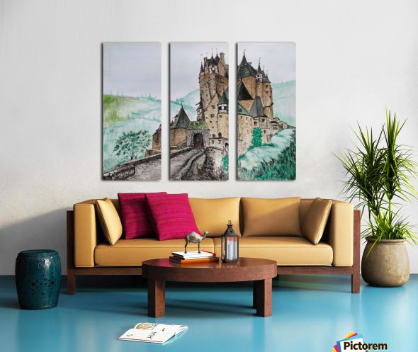 Landscape_DKS_1 Split Canvas print
