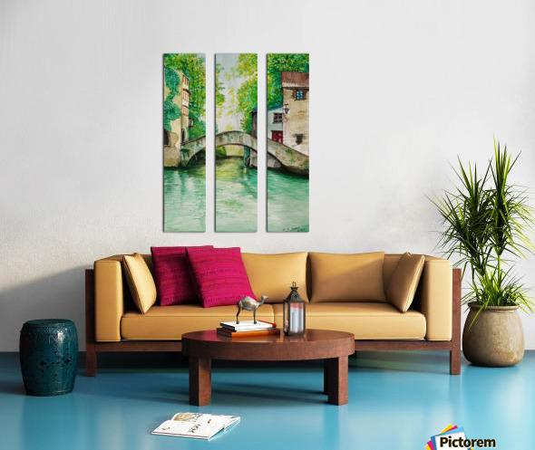 Lake City_DKS Split Canvas print