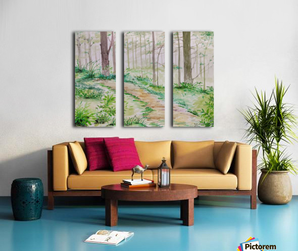 Landscape_DKS_2 Split Canvas print
