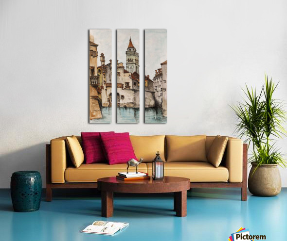 Castle_DKS Split Canvas print