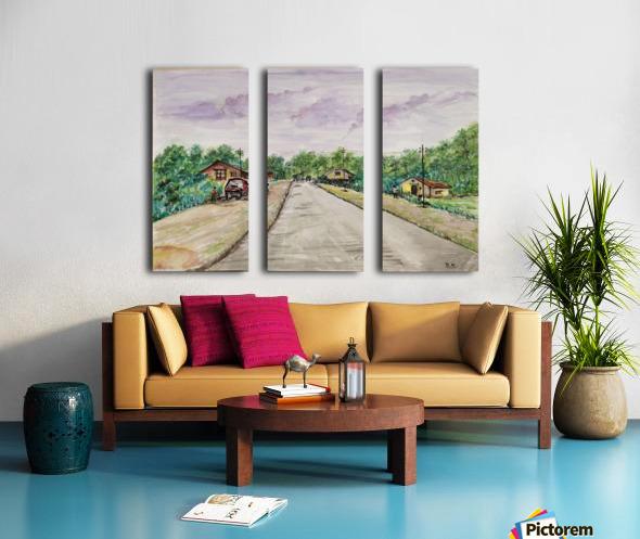 Way to Goa_DKS Split Canvas print