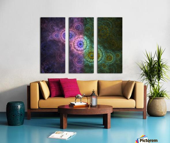 Path of Harmony Split Canvas print