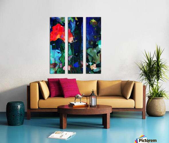Coral Reef  Split Canvas print