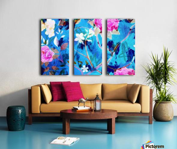 Full Bloom Split Canvas print