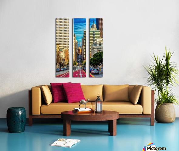 Diverse Split Canvas print