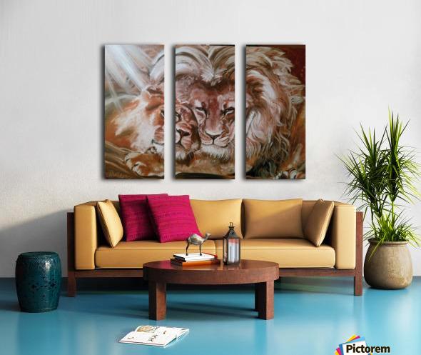 Leos.Fondness Split Canvas print