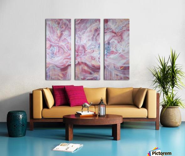 Dances of the Higher worlds Split Canvas print