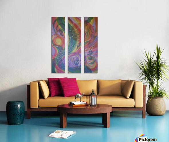 Dance Split Canvas print