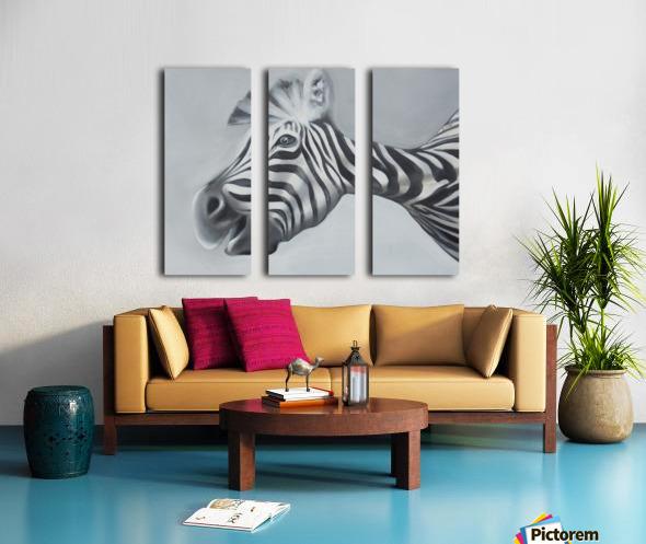 whats up Split Canvas print