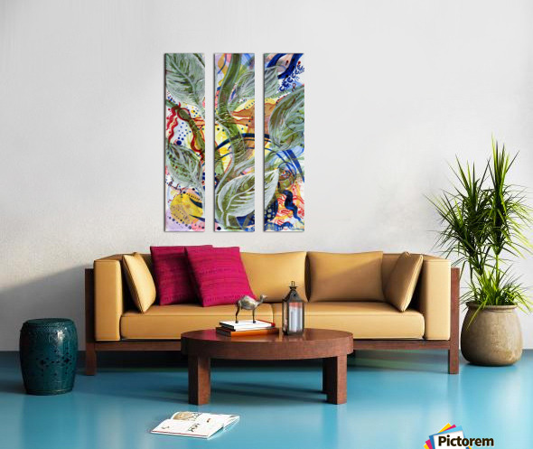 Sprout Of Love Split Canvas print