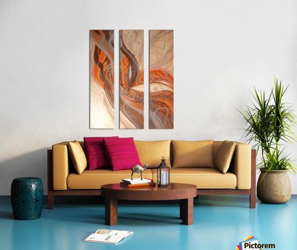 Smoke Split Canvas print