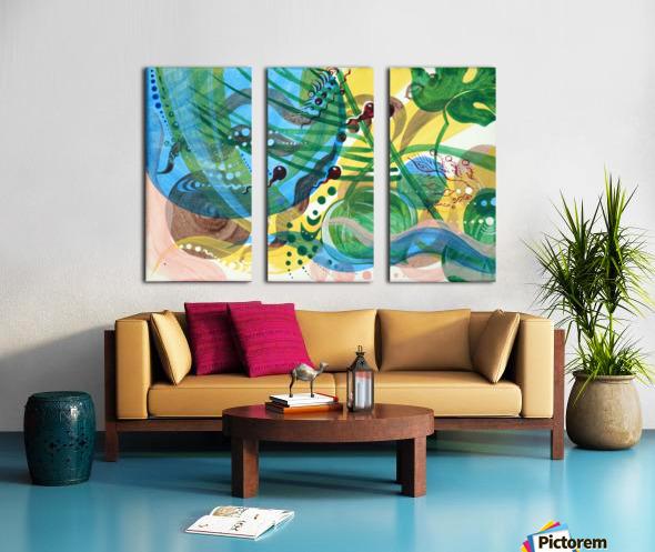 GARMONIY Split Canvas print