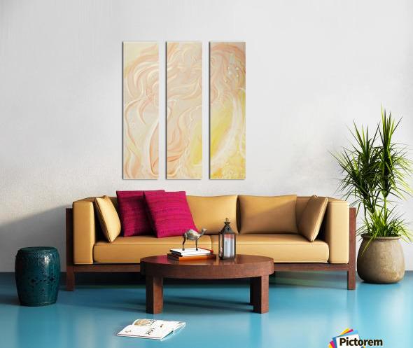 Angel Split Canvas print