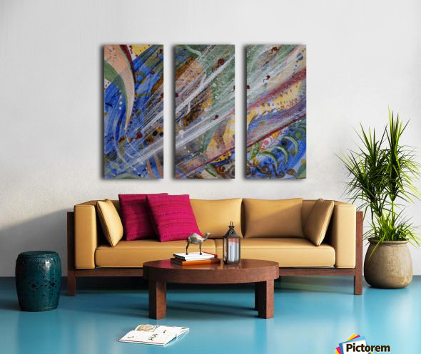 Stream Split Canvas print