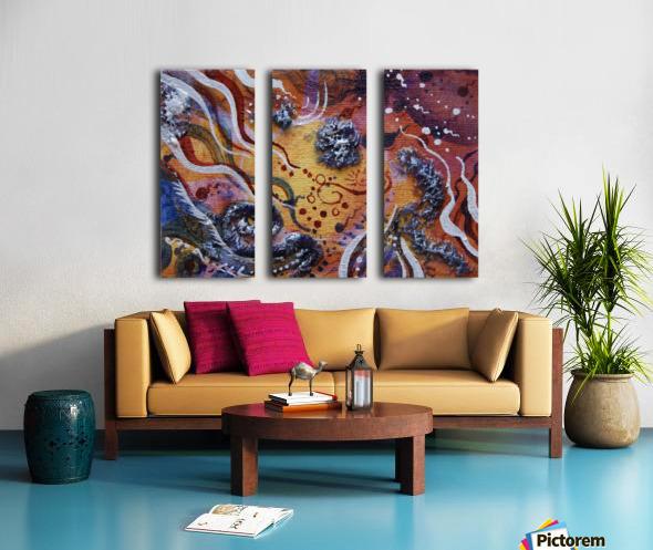 Gift Split Canvas print