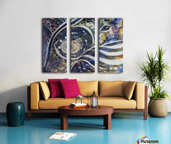 Obtain Split Canvas print