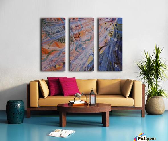 Co-creation Split Canvas print