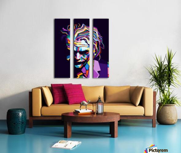Joker Split Canvas print