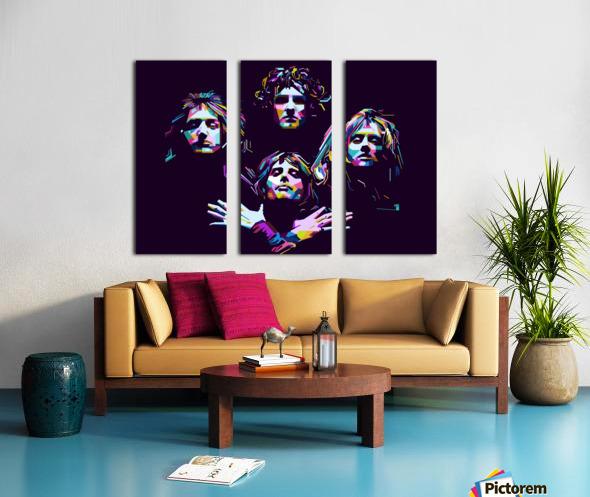 Queen Split Canvas print