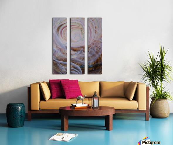 Awakening Split Canvas print