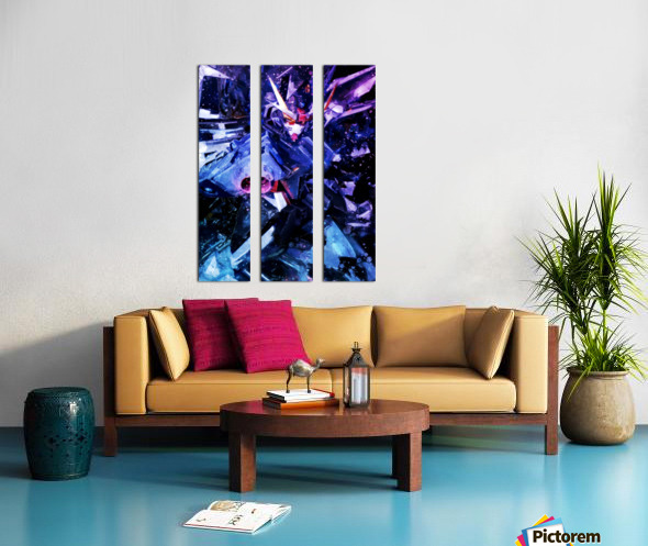 Gundam Split Canvas print