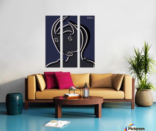 Pasiphaë Split Canvas print