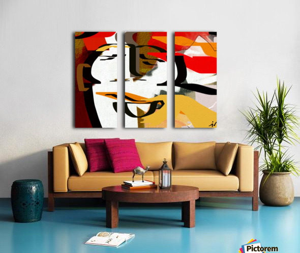0216 Split Canvas print