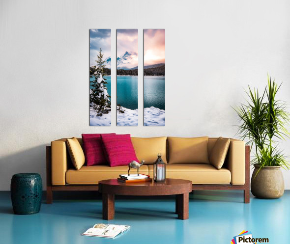 Winter Wonderland Split Canvas print
