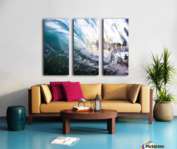Crash Split Canvas print