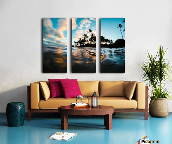 Lost at Sea Split Canvas print