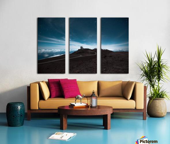 Haleakala at Night Split Canvas print