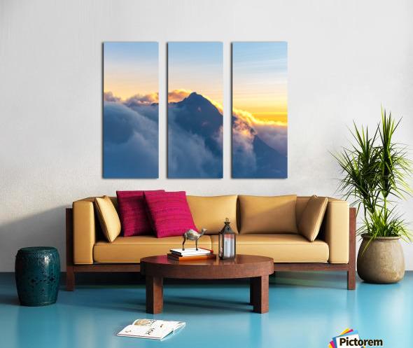 Alpine Glow Split Canvas print