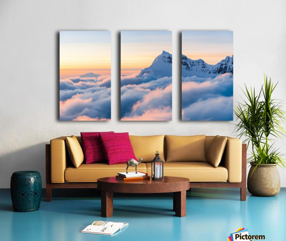 Above the Clouds Split Canvas print