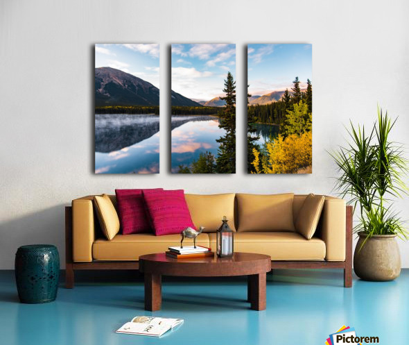 Mountains and Water Split Canvas print