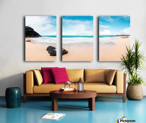 Kauai Paradise Split Canvas print